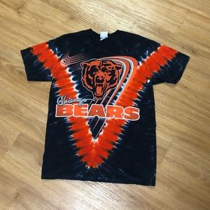 2000's Chicago Bears Tye Dye Majestic NFL T-Shirt